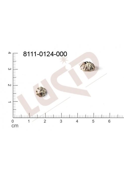 Kaplíky, čepičky 6.5 x 2.7mm