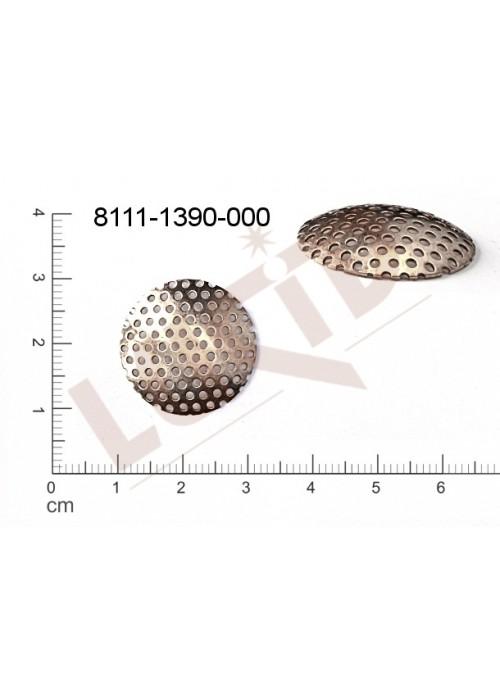 Sítko kulaté 22.0mm, tvarovaný