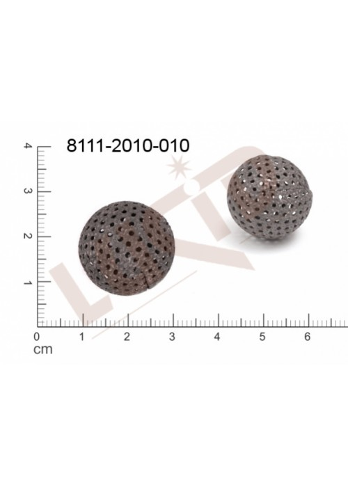 Kostička, kulička, 3D tvar 20.0mm