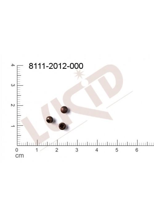 Kostička, kulička, 3D tvar 4.0mm