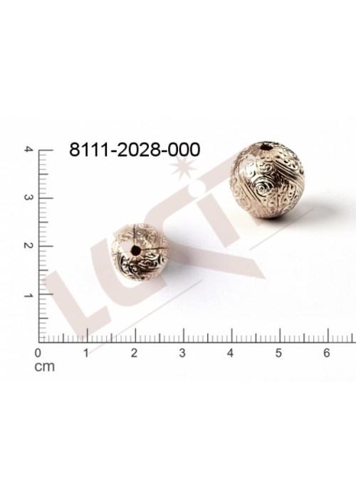 Kostička, kulička, 3D tvar 12.0mm