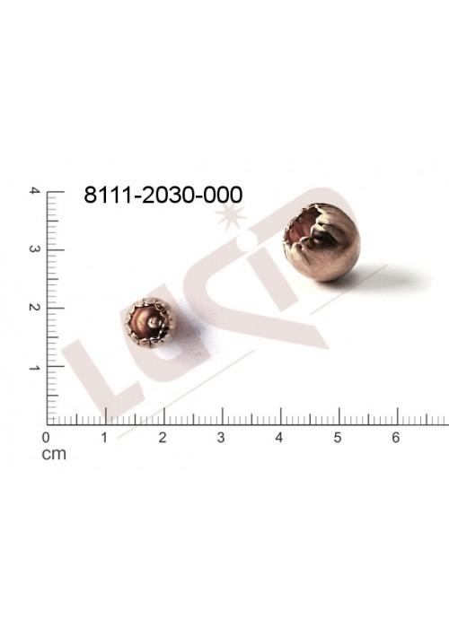 Kostička, kulička, 3D tvar 9.0mm