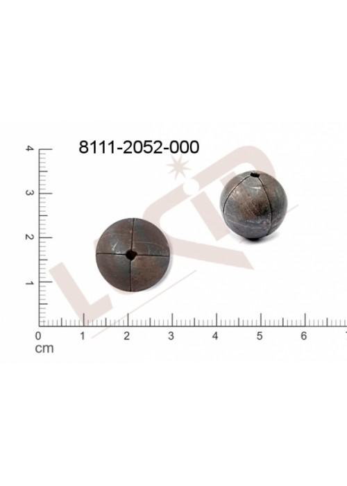 Kostička, kulička, 3D tvar 15.0mm