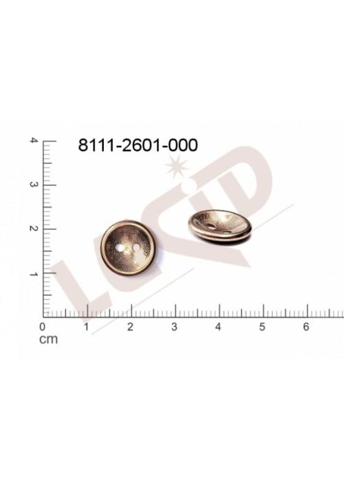Knoflík/knoflíkový díl 13.1mm
