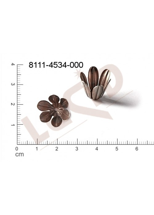Kaplíky, čepičky 15.0x13.0mm