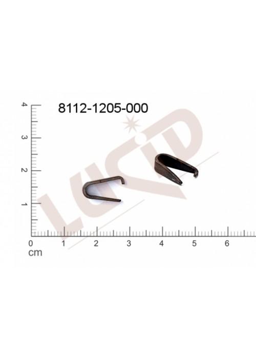 Šlupna/kramle 13.2x4.0mm
