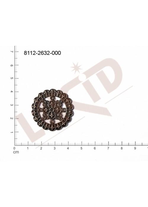 Tvarový výlisek kulatý bez oček (svěšovacích dírek) 31.0x31.0mm