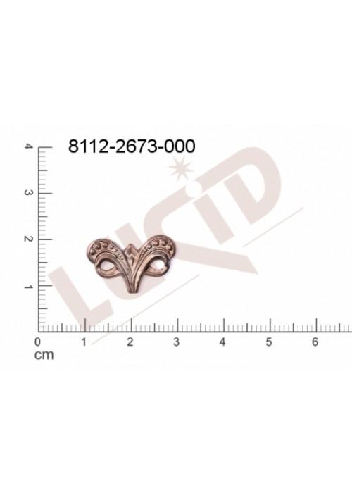 Tvarový výlisek bez oček (svěšovacích dírek) 16.0x10.0mm
