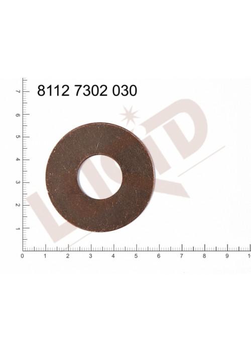 Plochý výsek kulatý bez oček (svěšovacích dírek) 48.0mm