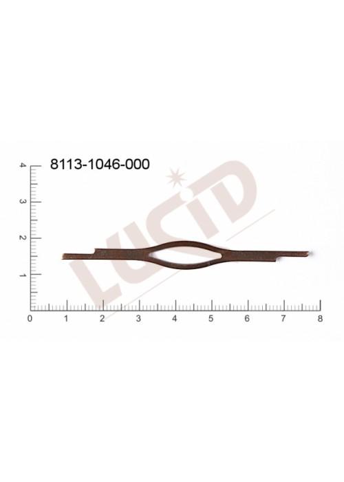 Prstýnkový díl prstýnkové obroučky 70.0x8.0mm