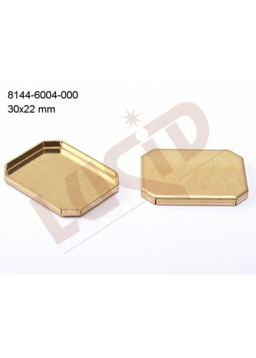Kotlík oktagon 30.0x22.0mm plochý se dnem