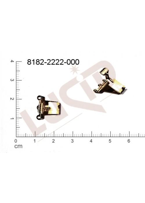 Záponka/záponkový díl záponkový díl 13.0x12.0mm