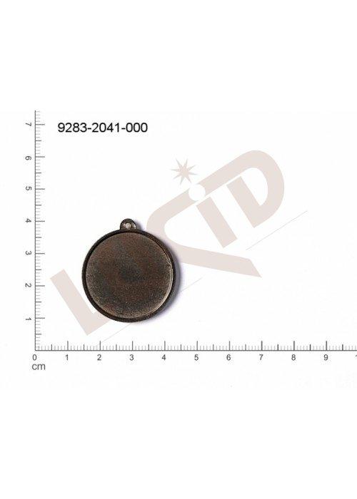 Tvarový výlisek kulatý bez oček (svěšovacích dírek) 28.0mm